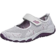 Zapatos planos de malla para mujer,Sonnena Mujeres de moda que vuelan los zapatos ligeros