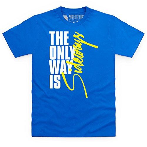 The Only Way Is Sideways T-Shirt, Herren Royalblau