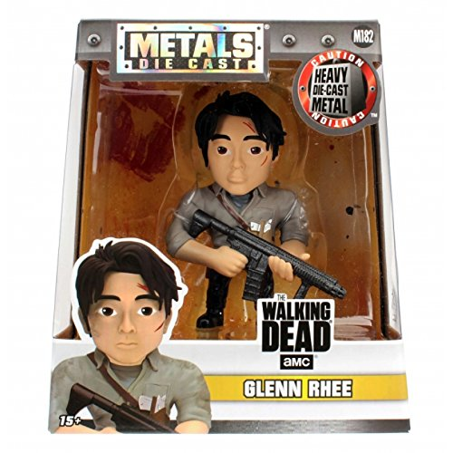 Jada metalfigs - 97937 - The Walking Dead - Glenn Rhee, 4 Pulgadas Figura
