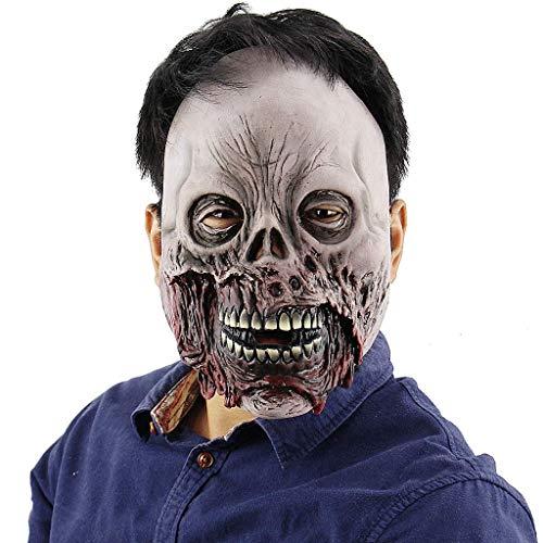 Living Dead Für Erwachsene Kostüm - Mask Kostümzubehör Horror Deluxe Evil Scary