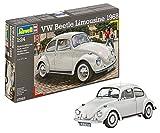 Revell Modellbausatz Auto 1:24 - Volkswagen VW Käfer 1968 (VW Beetle) im Maßstab 1:24, Level 4, originalgetreue Nachbildung mit vielen Details, 07083