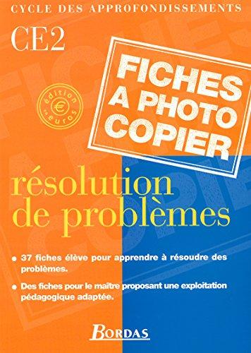 Résolution de problème, CE2