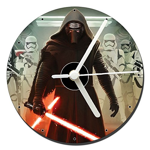 MasTazas Star Wars The Force Awakens El Despertar De La Fuerza Kylo REN Reloj CD Clock 12cm