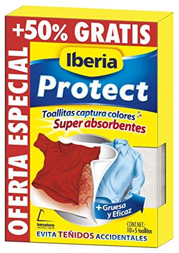 Iberia Toallitas Captura Colores para Lavadora - 10 Unidades