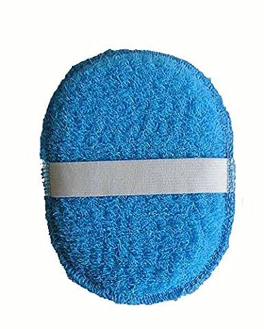 Magit Gant de bain ovale éponge synthétique,