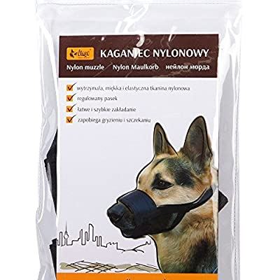 DINGO German Shepherd Rottweiler Number Nylon Muzzle