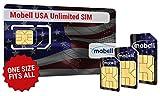 USA Unlimited SIM Karte von mobell. Unbegrenzte Daten und Texte. Monat, nur £36