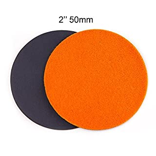 GP13201 GP-PRO20 ULTRA-FINE Grade Sanding Disc for Glass, Silicon Carbide Abrasive Disc / Diameter : 50mm / Pack of 10 Discs