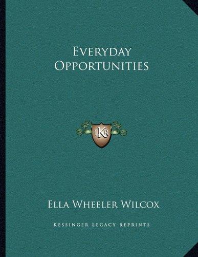Everyday Opportunities