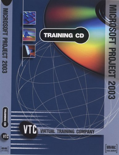 Microsoft Project 2003 VTC Training CD