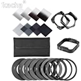 Akruti 20in1 Universal Neutral Density ND2 4 8 16 Filter Kit For Cokin P Set SLR DSLR Camera Lens Camera Photo Accessories