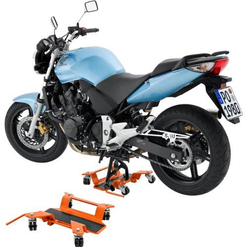 Motorrad Montageständer Hi-Q Tools Rangierhilfe bis 250kg für Hauptständer