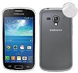 TBOC Funda de Gel TPU Transparente para Samsung Galaxy Trend Plus S7580 de Silicona Ultrafina y...