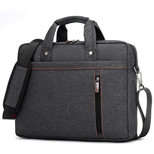 AREDOVL One-Shoulder-Laptop-Tasche wasserdicht Oxford Männer und Frauen (Color : Black, Size : 13inch)