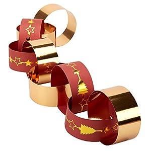 Neviti 772324deslumbrante Navidad-Cadenas de papel