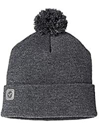 Mens Voi Turn Up Fashion Beany Hat - Thrall Grey