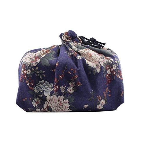 La bolsa de la fiambrera del estilo japonés