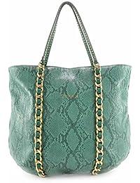 Sisley - Bolso al hombro para mujer Verde verde