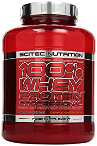 Scitec Nutrition Whey Protein Professional Cappuccino, 1er Pack (1 x 2350 g)