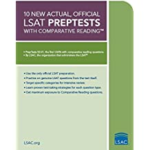 10 New Actual, Official LSAT Preptests with Comparative Reading (Lsat Series)