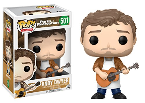 Funko Pop Andy Dwyer (Parks & Recreation 501) Funko Pop Parks & Recreation
