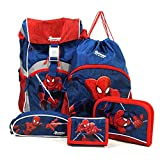 Sammies by Samsonite - Schulranzen Set 5 tlg. - Spider-Man