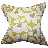 The Pillow Collection Zaza Bettwäsche, geometrisch, Gelb King/20