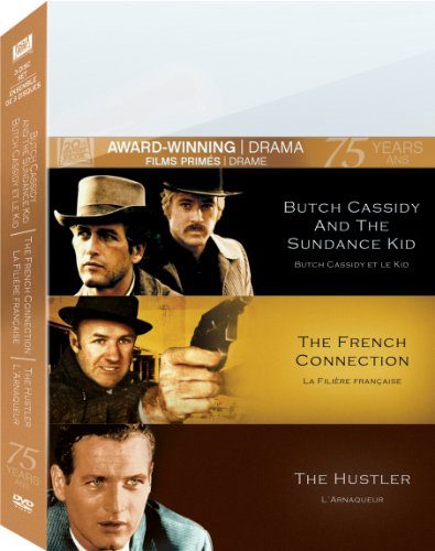 Butch Cassidy and the Sundance Kid / The French Connection / The Hustler (Triple Feature)