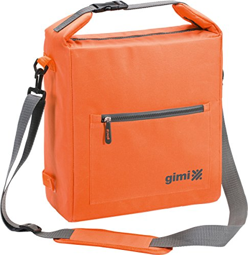 Gimi 159227 Kühltasche Thermo Bag, orange, 13 Liter