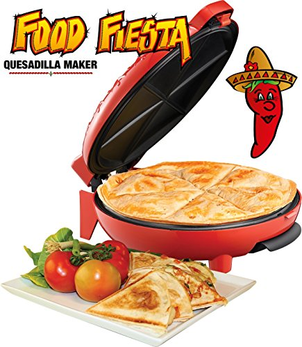 sadilla Maker chili rot, 900 Watt Power, TV Werbung,Mexican Food,Pizza mexikanisch,Rezepte, ()