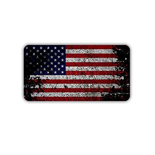 Aufkleber / Sticker - USA Flagge Fahne Amerika US Army Militär Stars and Stripes 7x4cm #A1732