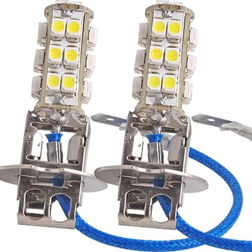 2 Stk. H3 26 SMD LED Auto Nebel TFL Lampen Birnen Weiß