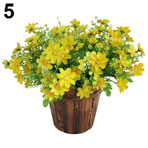 1 Bouquet 28 Heads Artificial Fa...