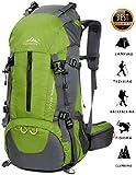 BestWahl 50L(45+5) Wanderrucksack Trekkingrucksack Reise-Rucksack Daypack Damen Herren (Grün)