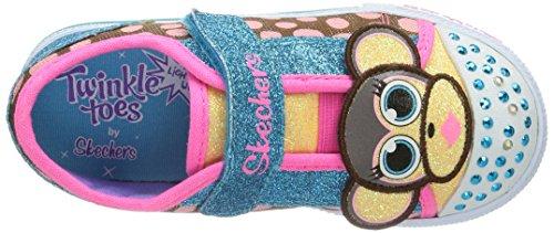 Skechers ShufflesCritter Buds - Sneaker, , taglia Multicolore (Mehrfarbig (MLT)