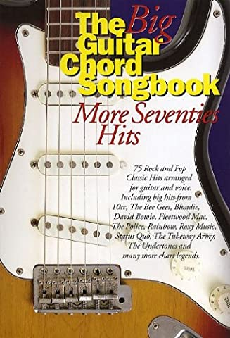 The Big Guitar Chord Songbook: More Seventies Hits. Sheet Music for Lyrics & Chords(with Chord Boxes)