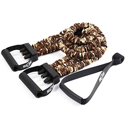 Home Fitness Elastisches Seil 3 Schlauch Verstellbarer Elastischer Gurt Spannung Seil Widerstand GüRtel Training Brustmuskeln (Abnehmbar) -4 Farben Optional - Optional Puller