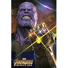 Póster Marvel Avengers Infinity War - Thanos (61cm x 91,5cm)
