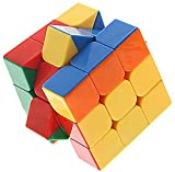 Blossom Magic Speed Cube (Cube Magic Square) with Smooth Turning and Excellent Rotation which analysis Critical Thinking, Creativity & Imagination,Hand & Eye Co-ordination, Problem Solving in Kids, Multi Color.