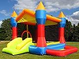 Bebop Party Aufblasbare Hüpfburg für Kinder mit Bällebad