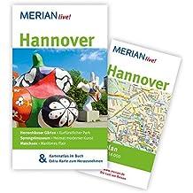 Hannover: MERIAN live! – Mit Kartenatlas im Buch und Extra-Karte zum Herausnehmen