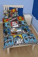 Disney Star Wars force Single Rotary Duvet Set
