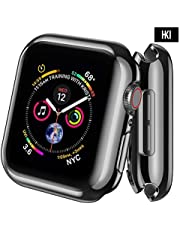 HKI Anti-Scratch Protective Case Cover Screen Protector for Apple Watch iWatch Series 4 44mm