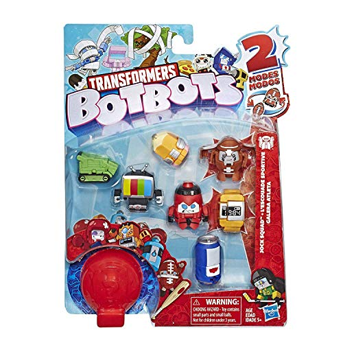 Transformers Botbots - Pack of 8 Figures 4 cm Jock Squad ( Random Pack )