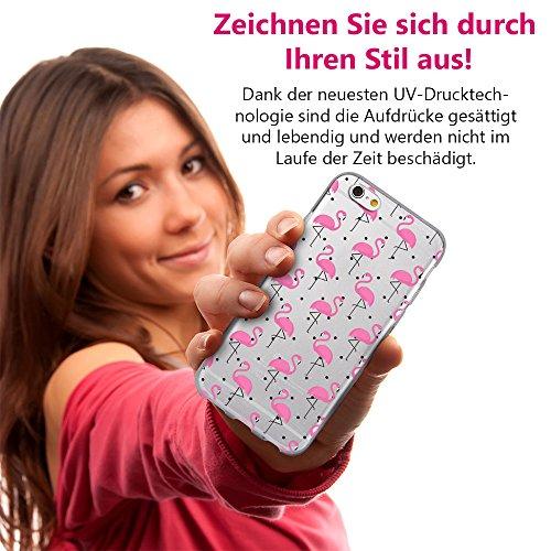 EGO® Double Touch Case + Ladekabel Armband für iPhone 6 6S 4,7'' Motiv 3 Katze 360 ° Grad komplette TPU Silikon Hülle vorne hinten Beidseitiger Schutz Full Handy Tasche transparent Front Back doppelse Motiv 5