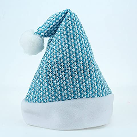 KMDJ regalo di Natale a nuovi tipi di bambini di tessuto a maglia spazzolata ordinario cappello di Natale