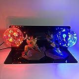 MELCT Figuren Dragon Ball San Goku Genki DAMA Spirit Bomb V3 LED Energy Saving Eye lamp