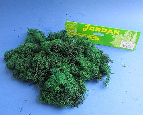 Original Jordan Islandmoos dunkelgrün 80g  Top Qualität