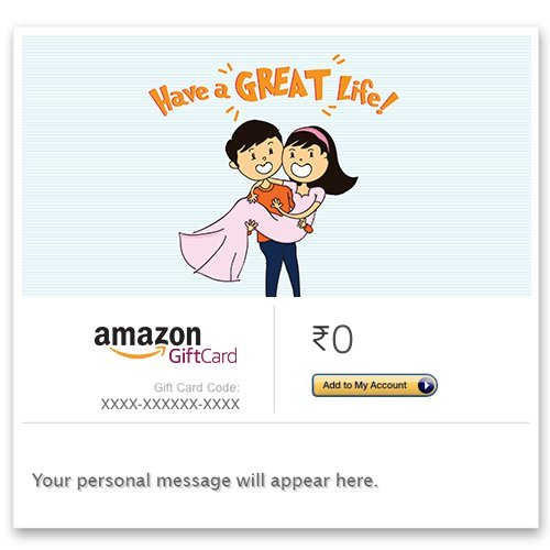 Congratulations (Great life) - E-mail Amazon Pay Gift Card