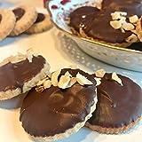 Eat to Fit Zuckerfrei Tea Time - Haselnusscreme & Schokolade - Low Carb Kekse Box 20er - ohne Zucker & ohne Weizen - diabetiker Schokolade